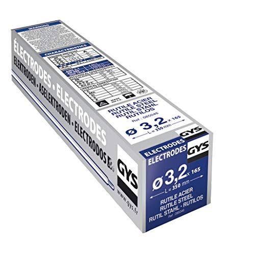 Gys 085039 - Electrodos para soldadura (3,2 mm, 4,85 kg, acero)