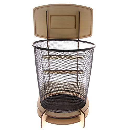 Dongbin Kreativer Basketball-Mülleimer, verwendet für Garten-Weihnachtsdekoration, großer Papierkorb Home-Office-Küchenbedarf