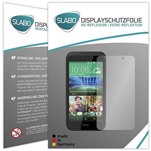 Slabo 4 x Bildschirmschutzfolie für HTC Desire 320 Bildschirmfolie Schutzfolie Folie Zubehör No Reflexion MATT