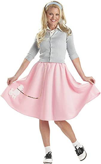 California Costumes Collections 00830 50/'s Poodle Skirt Costume