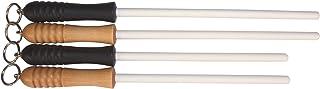 "Idahone Fine Ceramic Sharpening Rod (12"", Natural Handle)"