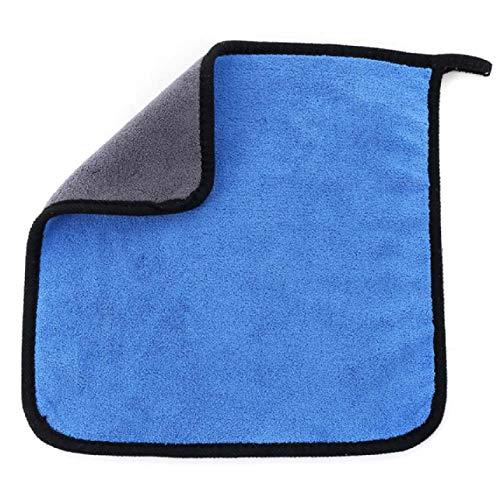 Barney modisches Auto-Reinigungstuch, Waschlappen, Mikrofaser, ultra saugfähig, weiches Handtuch 30 x 30