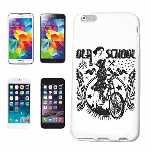 Bandenmarkt telefoonhoes compatibel met iPhone 6 Old School Fiets Retro Vrouwen Fiets Racing Mountainbike Fiets Mountainbike Fiets Mountainbike Fiets REPARATUR Fiets
