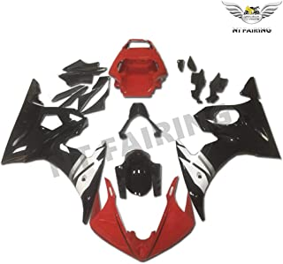 NT FAIRING Red White Black Injection Mold Fairing Fit for Yamaha YZF 2003-2005 R6 & 2006-2009 R6S New Painted Kit ABS Plastic Motorcycle Bodywork Aftermarket