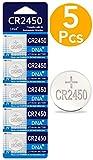 DNA CR2450 - Batería de Litio (5 Unidades)