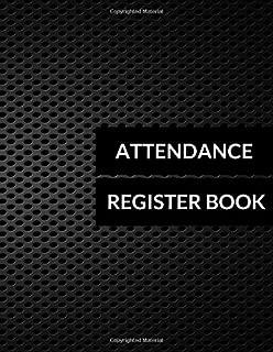 Attendance Register Book