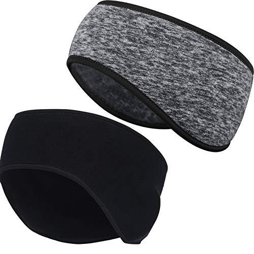 JTENG Sport Stirnbänder für Herren und Damen 3 Packs und 2 Handgelenk Schweißband & Sport Stirnband Feuchtigkeitstransport Workout Schweißbänder für Laufen, Yoga und Fahrradhelm (New)