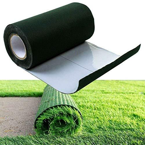 Hukz Kunstrasen Klebeband, Selbstklebend Kunstrasenband Landschaft Nahtband, Self-Adhesive Seaming Jointing Tape für Garten Kunstrasen Rasenteppich Gras Turf Artificial Grass (15 cm × 15 m)