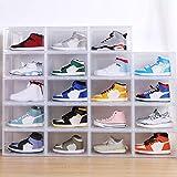 Gizayen Shoe Box Display Collection Storage Box Transparent Shoe Sneakers Storage Drawer Style Acrylic Shoe Box, Storage Shoes Box Womens Mens Plastic Shoe Container Clear Closet Shelf Shoe Organizer
