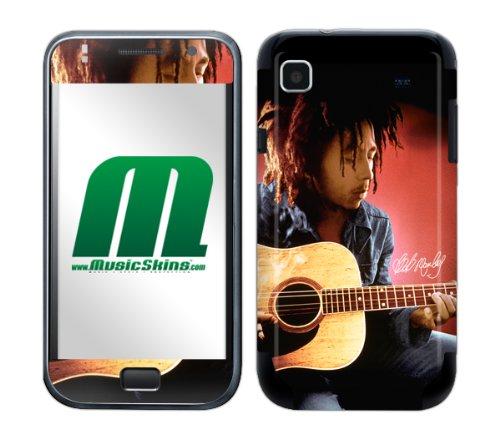 MusicSkins Bob Marley Guitar - Skin para Samsung Galaxy S International (GT-I9000)
