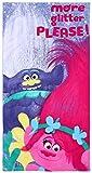 Serviette de Plage Violette 70x140 Trolls