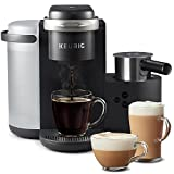 Keurig K-Cafe Coffee Maker, Single Serve K-Cup Pod Coffee, Latte and...