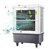 Enfriador evaporativo Portátil refrigerador del pantano, 700W 30000m³ / h Volumen de Aire mecánica Ventilador de refrigeración para el Comedor, hogar, Taller, Industrial