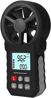 Clearance Sale!UMFun Multifunciton Anemometer MT62 Black Anemometer Features Air Volume