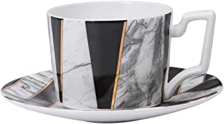 Coffee Mugs, Ceramic Twill Marbling Cup, for Home Office Christmas Valentine Festival Birthday Wedding Anniversary Gift(18...