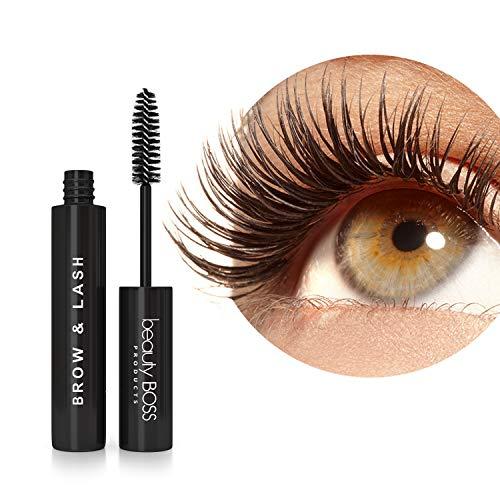 Eyelash Growth Serum - Natural Lash Boost and Brow Regrowth Rejuvenator - Enhancing Formula for Longer, Thicker Eyelashes and Fuller Eyebrows