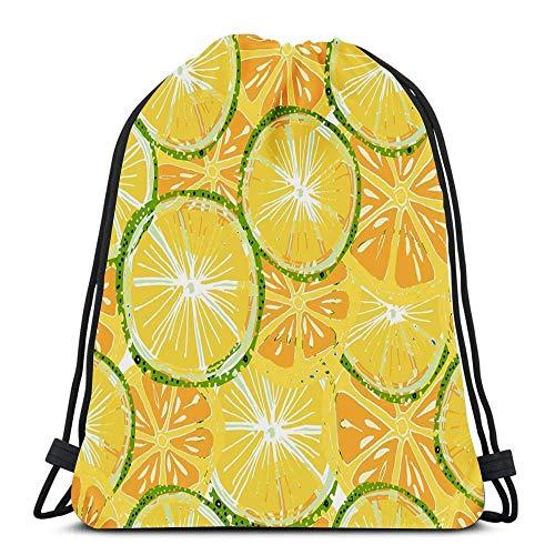 Yuanmeiju Traveling String Backpack,Teens Sack Drawstring,Sports Mochila con cordón,Unisex Bolsos con cordón,Abstract Wave Blue Laundry Bag Gym Yoga Bag School Backpack