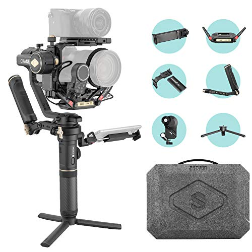 ZHIYUN Crane 2S [Pro], 3-Axis Handheld Professional Gimbal Stabilizer for DSLR and Mirrorless Cameras