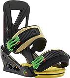 Burton Bindungen Custom Fresh Mon - Fijaciones de Snowboarding, Color (Fresh Mon), Talla S