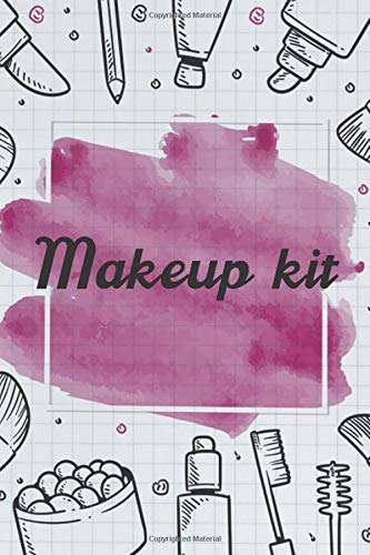 Makeup kit NoteBook Gift Idea: Lined makeup NoteBook Gift / Make-up Artist Notebook Gift, 120 Pages, 6x9, Soft Cover, Matte Finish