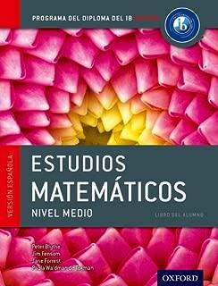 IB Estudios Matematicos Libro del Alumno: Programa del Diploma del IB Oxford (IB Diploma Program)
