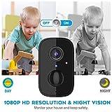 SV3C Überwachungskamera Aussen Akku 1080P - 3