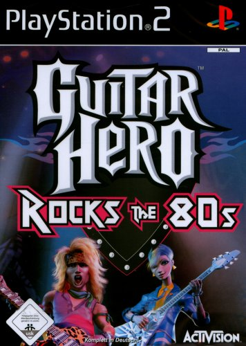 Guitar Hero Rocks the 80s