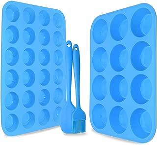 Best blue cupcake baking cups Reviews