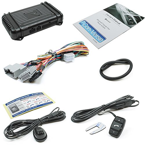 Rostra 250-7504-CHR4-V Con-Verse Bluetooth Control Switch for Select Chrysler/Dodge/Jeep/Mitsubishi/VW Vehicles
