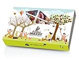 Francois Doucet Astuccio con Assortimento di Pasta di Frutta Ricoperta di Cioccolato - 1 x 270 Grammi