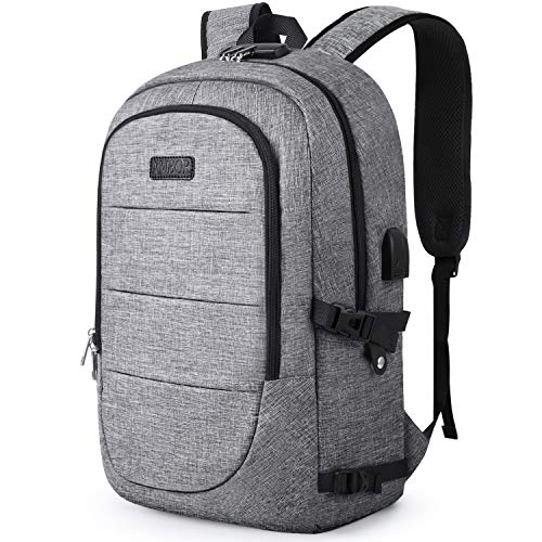 Anti-Theft Laptop Backpack,15.6-17.3 Inch Business Travel...