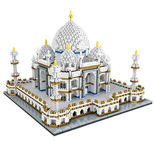 LGH 3900 + Uds Taj Mahal mundialmente Famoso Nano Mini Kits de Bloques de construcción construcción Infantil Juguetes educativos DIY Regalos