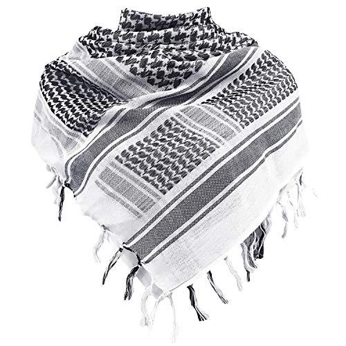 Shemagh Arabischer Military Palästinenser Tuch 100% Baumwolle Tactical Desert Schal Damen MEHRWEG
