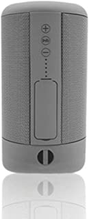 TDCQQ Bluetooth Speaker,Portable Speaker Bluetooth5.0 Wireless Stereo,12H Playtime,10M Bluetooth Range,IPX5 Waterproof Outdoor Speaker,Surround Sound,TF Card/USB(Black) (Color : Gray)