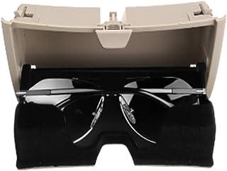 8227b8556b Alamor Frente del Coche Caja De Almacenamiento De Plástico para Gafas De Sol  Caja De Almacenamiento