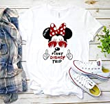 My First Disney Trip Mickey Mouse Avaitors Shirt, My First Disney Vacation Shirt, Disney Vacation Shirt Disneyland Shirt Disneyworld D5