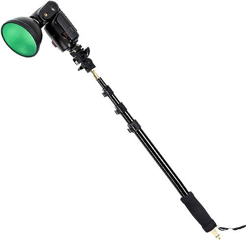 """Godox AD-S13 21-63""""/55-160cm ライトブームポールスティック 1/4"""" おねじ WITSTRO Flash AD180 AD360に対応【並行輸入品】"""