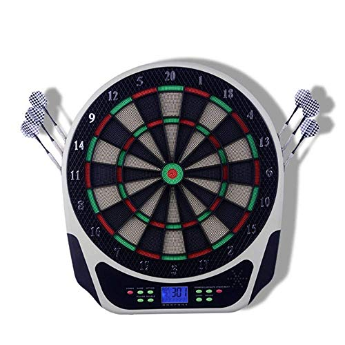 RVTYR Sicherheit Dartscheibe Set Elektronische Dartscheibe Ultra Thin Spinne for mehr Wertungszone Freischwingendem Segmente Locking Segment Löcher Indoor Outdoor-Spiel for Kinder dartautomat
