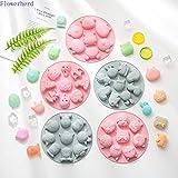 xmwm Niedliche Tiere DIY Silikon Reis Kuchenform Babynahrungsbox Dampfbare Backform Cartool Tools Fondantformen Schokoladenseifenform, A.