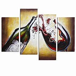 wine related gifts: art