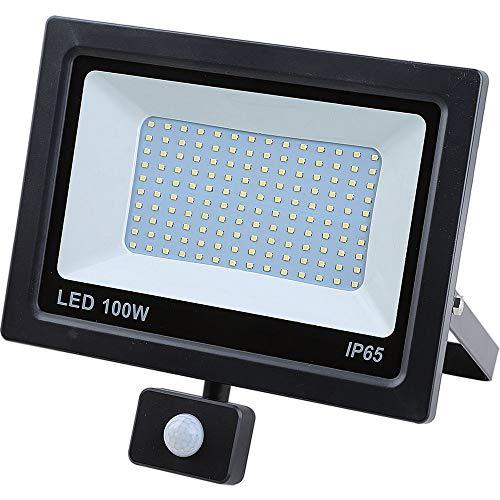 LED-schijnwerper met bewegingsmelder schijnwerper SMD buitenspot 50W bewegingsmelder