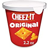 Cheez-It Baked Snack Cheese Crackers, Original, 2.2oz Caddies (10 count)
