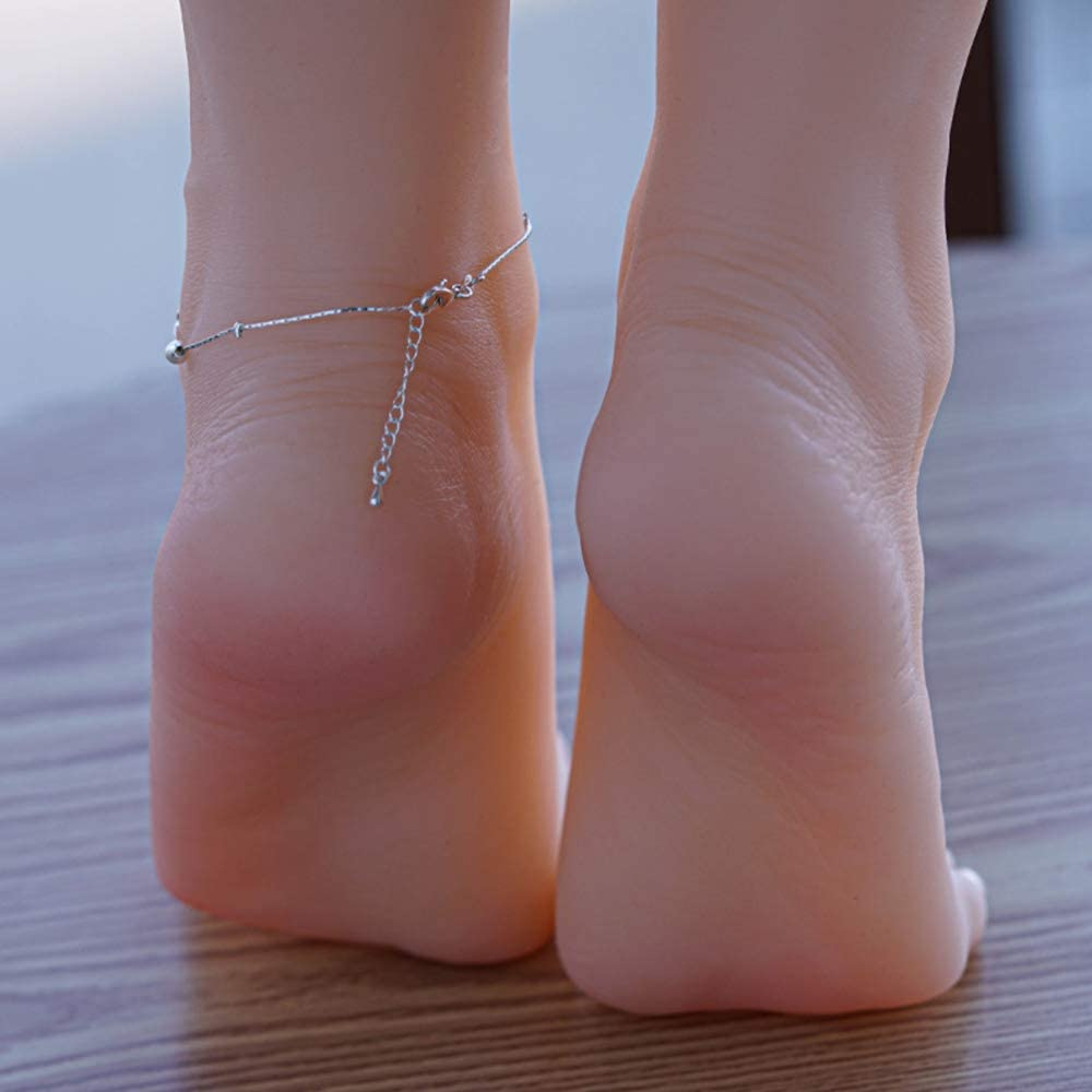 1 Pair Lifesize Female Mannequin Limited time cheap sale Foot Milwaukee Mall Display S Jewerly Silicone