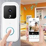 Naroote Campanello Video, Campanello Smart WiFi B60 1080P Wireless HD Video Vista Notturna...