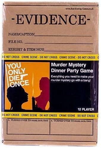 diseñador en linea You Only Die Once - Juego de Misterio Misterio Misterio del Asesino para 12 Jugadores  venta directa de fábrica