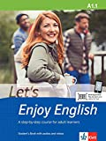 Let's Enjoy English A1.1: A step-by-step course for adult learners. Student's Book + MP3-CD + DVD (Let's Enjoy English / A step-by-step course for adult learners)