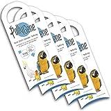 Pollygene 5 Sessaggio Uccelli molecolare mediante analisi del Dna per pappagalli, Lovebirds, Cockatoos (più di 300 Psittacines) [Speciale Allevatori]