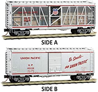 Micro-Trains MTL N-Scale Union Pacific/UP 40ft Box Impact Car/Open Side #195220