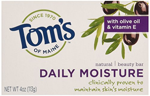 TOMS OF MAINE SOAP BAR BEAUTY MOISTURE 4OZ