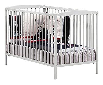 Baby Price New Nao bebé con cuna, 3posiciones, 120x 60cm), color blanco
